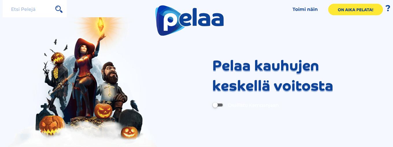 Halloween pelaa